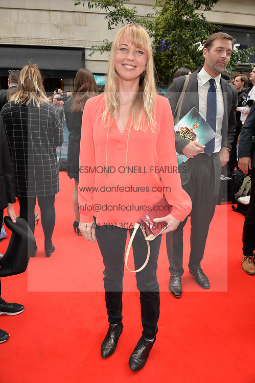 Sara Cox arriving at The opening night of Wind in The Willows at the London Palladium, Argyll Street, London England. 29 June 2017.<br /> Photo by Dominic O'Neill/SilverHub 0203 174 1069 sales@silverhubmedia.com
