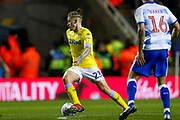 Leeds United midfielder Kalvin Phillips (23) in action  during the EFL Sky Bet Championship match between Reading and Leeds United at the Madejski Stadium, Reading, England on 12 March 2019.