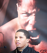 Floyd Mayweather Jr & Frank Warren press conference at The Savoy Hotel, London, Great Britain <br /> 7th March 2017 <br /> <br /> <br /> <br /> Gervonta Davis <br /> (an American professional boxer who has held the IBF junior lightweight title since January 2017)<br /> <br /> 