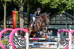 KLEMENT Nicole (GER), Diaradox<br /> Paderborn - OWL Challenge 5. Etappe BEMER Riders Tour 2019<br /> SPOOKS-Amateur Trophy - Large Tour <br /> Zwei-Phasen Springprüfung, international <br /> Finale Heinzelmännchen Young Riders Amateur Cup 2019<br /> 14. September 2019<br /> © www.sportfotos-lafrentz.de/Stefan Lafrentz