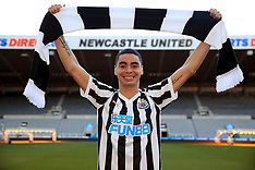 Newcastle United's new signing Miguel Almiron - 07 Feb 2019