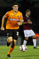 Picture by David Horn/Focus Images Ltd +44 7545 970036.30/08/2012.Danny East of Wolverhampton Wanderers during the Capital One Cup match at Sixfields Stadium, Northampton.