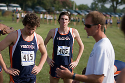 Virginia Cavaliers Andy Biladeau.Virginia Cavaliers Kevin Tschirhart..The Virginia Cavaliers faced the Duke Blue Devils at Scott Stadium in Charlottesville, VA on September 8, 2007