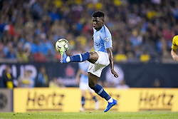 July 20, 2018 - Chicago, IL, U.S. - CHICAGO, IL - JULY 20: Manchester City midfield Tomiwa Dele-Bashiru (72) controls the ball during an International Champions Cup match between Manchester City and Borussia Dortmund on July 20, 2018 at Soldier Field in Chicago, Illinois. (Photo by Robin Alam/Icon Sportswire) (Credit Image: © Robin Alam/Icon SMI via ZUMA Press)
