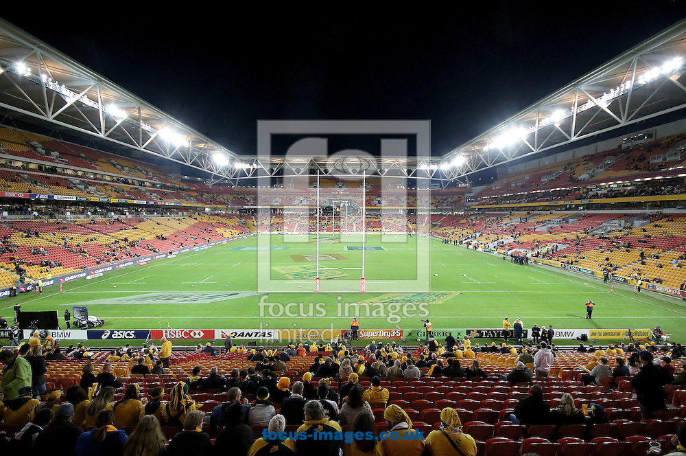 General view before the The Rugby Championship match between Australia and South Africa at Suncorp Stadium, Brisbane<br /> Picture by Steven Gibson/Focus Images Ltd +61 413 768835<br /> 18/07/2015