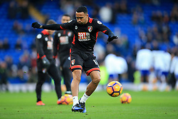 Callum Wilson of Bournemouth warms up - Mandatory by-line: Jason Brown/JMP - 26/12/2016 - FOOTBALL - Stamford Bridge - London, England - Chelsea v Bournemouth - Premier League