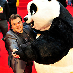 © licensed to London News Pictures. LONDON UK  05/06/11.Jack Black  attends the premiere of Kung Fu Panda 2 at Westfield shopping center London. Please see special instructions for usage rates. Photo credit should read ALAN ROXBOROUGH/LNP