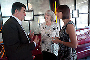 JUDITH NEILSON; PARIS NEILSON;, Brunch to celebrate the launch of Art HK 11. Miss Yip Chinese Cafe. Meridian ave,  Miami Beach. 3 December 2010. -DO NOT ARCHIVE-© Copyright Photograph by Dafydd Jones. 248 Clapham Rd. London SW9 0PZ. Tel 0207 820 0771. www.dafjones.com.