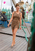 1/7/2011.no charge for repro.Hannah Cusack pictured at the Fashion Show on board the Mir Tall Ship.Picture Dylan Vaughan