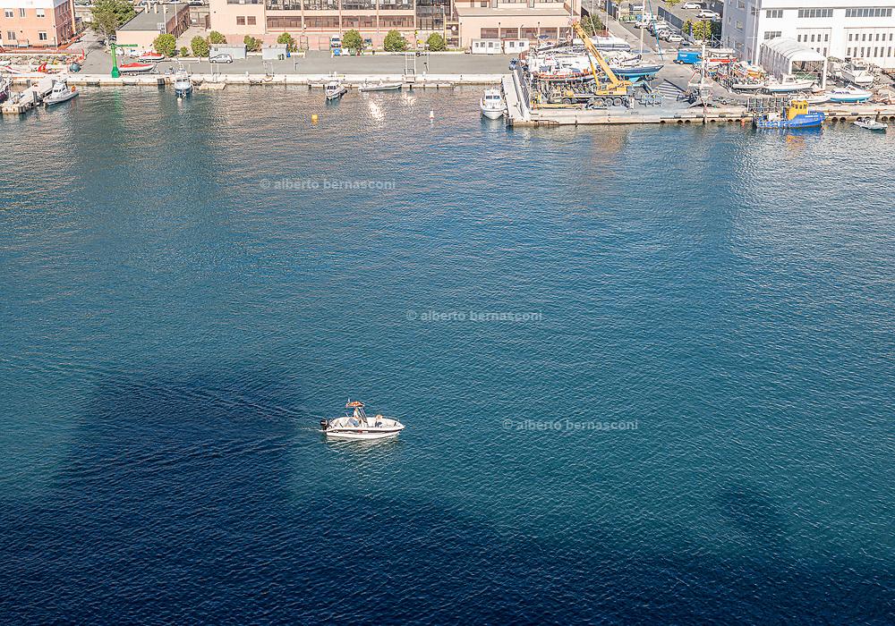 COSTA CROCIERE, Diamante Boat, view from the boat