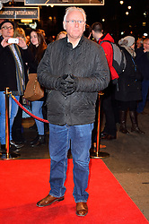 © Licensed to London News Pictures. 16/02/2016. PETE WATERMAN arrives for the press night of Mrs Henderson Presents press night at the Noel Coward Theatre. London, UK. Photo credit: Ray Tang/LNP
