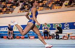 11-02-2017 NED: AA Drink NK Indoor, Apeldoorn<br /> Naomi Sedney wint de 60meter en is Nederlands kampioen