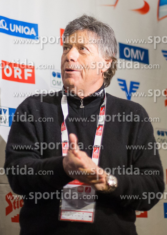 26.02.2015, Österreich Haus, Falun, SWE, FIS Weltmeisterschaften Ski Nordisch, Medaillenfeier, im Bild Peter Schröcksnadel, Präsident ÖSV // during the Medal Party of the FIS Nordic Ski World Championships 2015 at the Ski Austria House, Falun, Sweden on 2015/02/26. EXPA Pictures © 2015, PhotoCredit: EXPA/ JFK