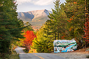The famous painted rock on the Baxter State Park Access Road marks the entrance to one of the most sacred places in Maine.