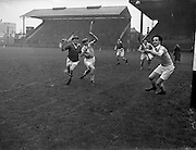 31/03/1957<br /> 03/31/1957<br /> 31 March 1957<br /> National Hurling League: Dublin v Cork at Croke Park, Dublin.