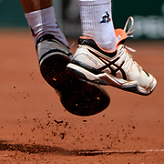 02.06.2018 ITF French Open Tennis Roland-Garros Paris Rafael Nadal ESP during Day 6 of the tournament<br /> General views of play during Day 6 of the tournament