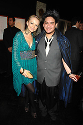 HANNAH SANDLING and he son of the Sultan of Brunei PRINCE AZIM OF BRUNEI at Andy & Patti Wong's Chinese new Year party held at County Hall and Dali Universe, London on 26th January 2008.<br /> <br /> NON EXCLUSIVE - WORLD RIGHTS (EMBARGOED FOR PUBLICATION IN UK MAGAZINES UNTIL 1 MONTH AFTER CREATE DATE AND TIME) www.donfeatures.com  +44 (0) 7092 235465
