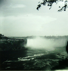 Niagara Falls historical stock photos (1970) Royalty Free Stock Images