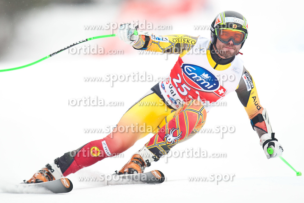 16.12.2011, Saslong, Groeden, ITA, FIS Weltcup Ski Alpin, Herren, Super G, im Bild Jan Hudec (CAN) // Jan Hudec of Canada during men's super G at FIS Ski Alpine Worldcup at Saslong in Groeden, Italy on 2011/12/16. EXPA Pictures © 2011, PhotoCredit: EXPA/ Johann Groder