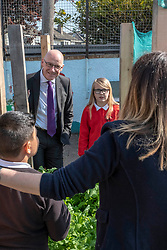 Pictured: John Swinney<br /><br />John Swinney headed to Hermitage Park Primary School today to read his favourite bedtime story to pupils to promote the school's 'coorie in' project, an online channel that shares bedtime stories and promotes literacy.<br /><br /> Ger Harley | EEm 14 May 2019