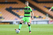 Forest Green Rovers Lloyd James(4) during the EFL Sky Bet League 2 match between Port Vale and Forest Green Rovers at Vale Park, Burslem, England on 23 March 2019.