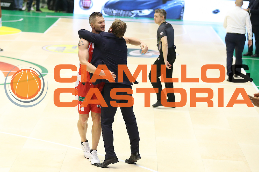 Kaukenas<br /> Grissin Bon Pallacanestro Reggio Emilia - Betaland Capo d Orlando<br /> Poste Mobile Final Eight F8 2017 <br /> Lega Basket 2016/2017<br /> Rimini, 16/02/2017<br /> Foto Ciamillo-Castoria/A.Gilardi