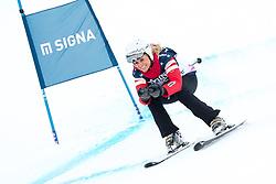 21.01.2017, Hahnenkamm, Kitzbühel, AUT, FIS Weltcup Ski Alpin, KitzCharity Trophy, im Bild Luisa Lehmann (Audi 2) // during the KitzCharity Trophy of FIS Ski Alpine World Cup at the Hahnenkamm in Kitzbühel, Austria on 2017/01/21. EXPA Pictures © 2017, PhotoCredit: EXPA/ Serbastian Pucher