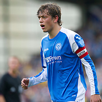 St Johnstone FC...Season 2012-13<br /> Murray Davidson<br /> Picture by Graeme Hart.<br /> Copyright Perthshire Picture Agency<br /> Tel: 01738 623350  Mobile: 07990 594431