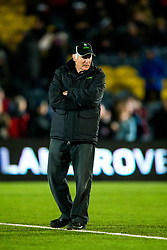 Worcester Warriors Director of Rugby Alan Solomons looks on - Rogan/JMP - 05/01/2018 - RUGBY UNION - Sixways Stadium - Worcester, England - Worcester Warriors v Bath Rugby - Aviva Premiership.
