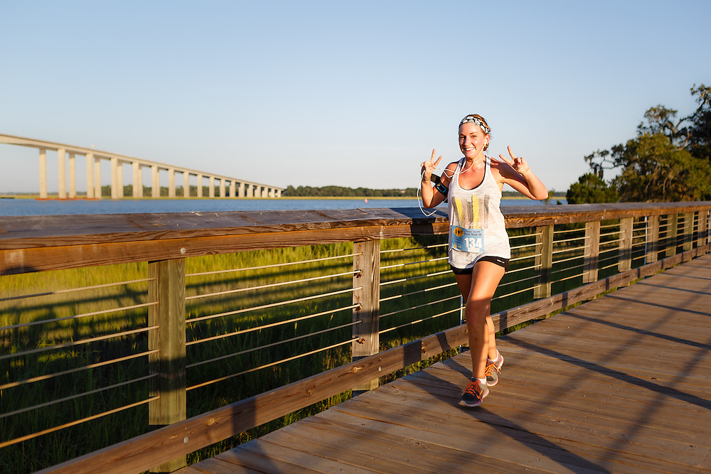 Images from the 2014 Daniel Island Happy Hour 5k series race #4 near Charleston, SC.