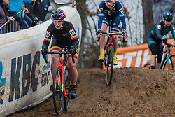 BAJGEROVÁ Nikola (CZE) during Women Elite race, 2019 UCI Cyclo-cross World Cup Heusden-Zolder, Belgium, 26 December 2019.<br /> <br /> Photo by Pim Nijland / PelotonPhotos.com <br /> <br /> All photos usage must carry mandatory copyright credit (Peloton Photos | Pim Nijland)