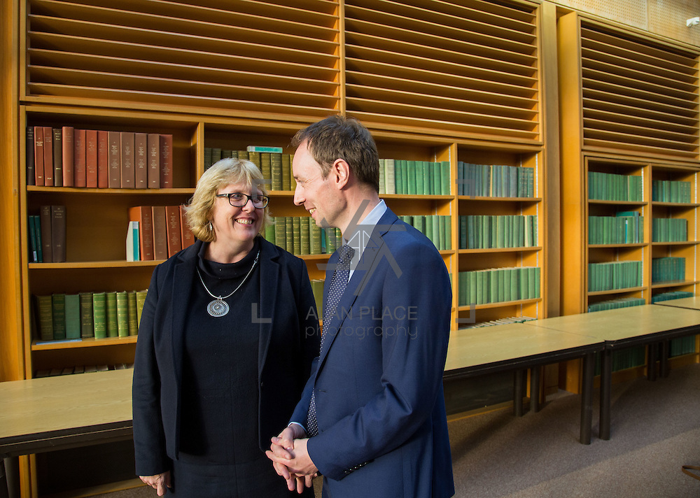 14.10.2016                 <br /> A new research centre focussing on Irish and European history and culture was launched in Limerick.<br /> <br /> Pictured at the launch were, Prof. Jane Ohlmeyer, Erasmus Smith&rsquo;s Chair of Modern History, Trinity College Dublin, Director of the Trinity Long Room Hub, and Chair of the Irish Research Council and Dr. Richard Kirwan, Dept. History UL.<br /> <br /> The Centre for Early Modern Studies brings together experts from University of Limerick and Mary Immaculate College to further the study of the history and culture of the 16th, 17th and 18th centuries. <br /> <br /> The Centre for Early Modern Studies was launched  with an inaugural lecture by Professor Jane Ohlmeyer, Erasmus Smith&rsquo;s Chair of Modern History, Trinity College Dublin, Director of the Trinity Long Room Hub, and Chair of the Irish Research Council. Professor Ohlmeyer spoke on the topic of &lsquo;Early Modern Ireland and the Wider World&rsquo;.<br /> Picture: Alan Place
