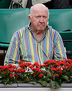 French Open 2008, Roland Garros, Paris, Frankreich,Sport, Tennis, ITF Grand Slam Tournament,  ..Tennis Reporter Legende Bud Collins (USA)..Foto: Juergen Hasenkopf..
