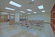 Interior image of Mount Saint Joseph High School classroom renovation