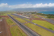 Kahului Airport, Maui, Hawaii