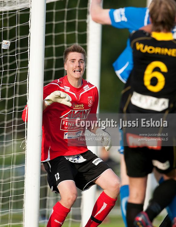 Mika Hilander. Honka - Tampere United. TamU. Veikkausliiga. Espoo 20.6.2010. Photo: Jussi Eskola