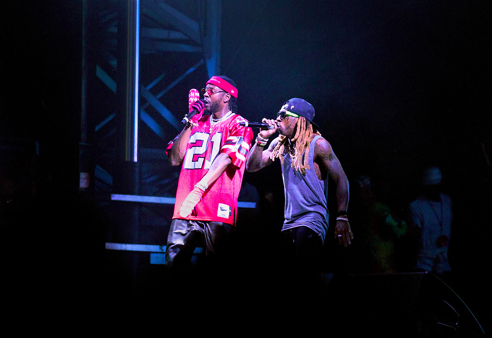 Rappers 2 Chainz and L'il Wayne are currently on tour as COLLEGROVE. 2 Chainz, legally known as Tauheed Epps, is a native of Atlanta who is rumored to have plans for a future mayoral campaign in his hometown of College Park.