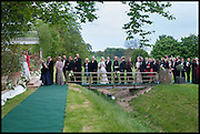 Party to celebrate the marriage of Kate Reardon to Charles Gordon-Watson. Sydmonton. 18 May 2013