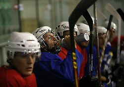 at second ice hockey practice of HDD Tilia Olimpija on ice in the new season 2008/2009, on August 19, 2008 in Hala Tivoli, Ljubljana, Slovenia. (Photo by Vid Ponikvar / Sportal Images)