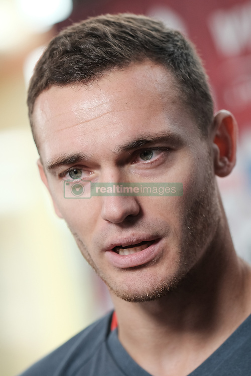 October 4, 2017 - Tubize, BELGIUM - Belgium's Thomas Vermaelen pictured during a press conference of Belgian national soccer team Red Devils, Wednesday 04 October 2017, in Tubize. The team is preparing for World Cup qualification games against Bosnia on Saturday, and Cyprus on Monday. BELGA PHOTO BRUNO FAHY (Credit Image: © Bruno Fahy/Belga via ZUMA Press)