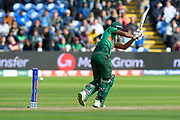 Wicket - Mohammad Saifuddin of Bangladesh is bowled by Ben Stokes of England during the ICC Cricket World Cup 2019 match between England and Bangladesh the Cardiff Wales Stadium at Sophia Gardens, Cardiff, Wales on 8 June 2019.