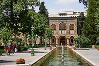 Iran, Teheran, Palais du Golestan, Patrimoine mondial de l'UNESCO,  // Iran, Tehran, Golestan Palace, World Heritage of the UNESCO