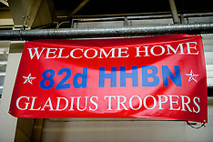 82nd Airborne HHBN Homecoming