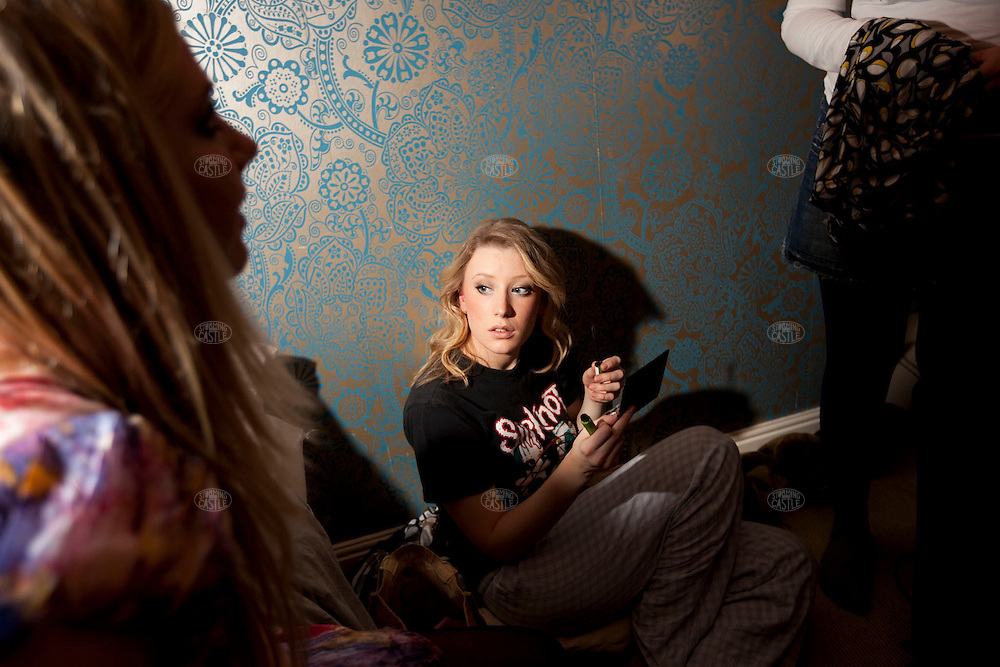 Photo ©2008 Tom Wagner. Girls night out. 17 and 18 year old girls prepare for a night out on the town. ©Tom Wagner 2008, all rights reserved, all moral rights asserted.  ©Tom Wagner 2008, all rights reserved, all moral rights asserted..