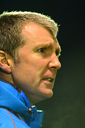 JIM GANNON MANAGER STOCKPORT COUNTY, Brackley Town v Stockport County, Buildbase FA Trophy 4th Round Replay, Tuesday 6th March 2018 Score 2-1 <br /> Photo:Mike Capps