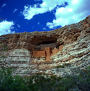 Montezuma's Castle national monument, a cave dwelling constructed by the Sinagua people, Arizona, USA