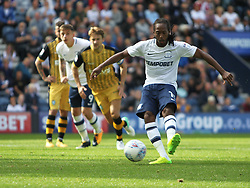 Daniel Johnson of Preston North End scores his sides first goal from the penalty spot - Mandatory by-line: Jack Phillips/JMP - 05/08/2017 - FOOTBALL - Deepdale - Preston, England - Preston North End v Sheffield Wednesday - English Football League Championship