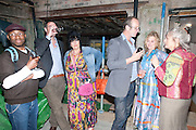 LES CHILD; ? SUE TILLEY; JOHNNIE SHAND-KYDD;  ISABELLE BANNERMAN; LADY ANN LAMBTON,  Early launch of Rupert's. Robin Birley  new premises in Shepherd Market. 6 Hertford St. London. 10 June 2010. .-DO NOT ARCHIVE-© Copyright Photograph by Dafydd Jones. 248 Clapham Rd. London SW9 0PZ. Tel 0207 820 0771. www.dafjones.com.