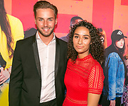 AMSTERDAM, THE NETHERLANDS. 2017, SEPTEMBER 22. Donny Roelvink and Amije van der Laan at the premiere of Misift at Pathe ArenA.