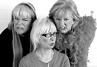 3 grumpy women original cast, Jenny &Eacute;clair, Dillie Keane and Linda Robson<br />